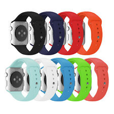 Soft Silicone Replacement Sport Strap Wrist Band for Apple Watch All Models