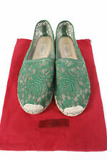 Valentino Green Lace Espadrilles 41 uk 8