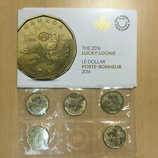 2016 Canada Canadian $1 Rio Olympics Lucky Loonie Coin Pack Uncirculated