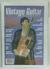 Vintage Guitar Magazine Billy Gibbons BC Rich Ted Nugent The Hellecaster RARE!!