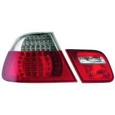 Coppia fari fanali posteriori TUNING BMW Serie 3 E46 99-07 CABRIO LED rosso bian