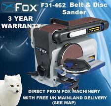 La lavorazione del legno Fox f31-462a Cintura & DISC Sander