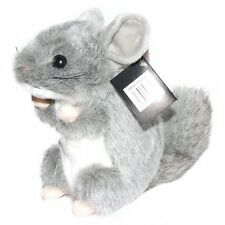 18cm Chinchilla Soft Toy - Plush Toy Suitable for Ages 3 Years +