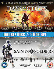 DVD.DOUBLE DVD BOXED SET. DAYS OF GLORY & SAINTS & SOLDIERS.