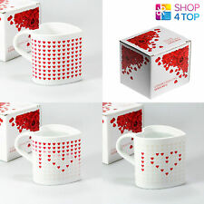 HEART SHAPE LOVE MUG CUP COFFEE TEA MAGIC HEAT SENSITIVE HOT CHANGING CERAMIC