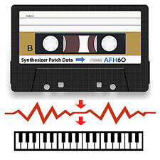 Korg PolySix Data Cassette Tape - Containing Patches/Sounds