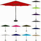 Replacement Waterproof Fabric Garden Parasol Canopy Cover 6 Arm Sun Umbrella