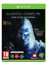Middle-Earth: Shadow of Mordor GOTY Game of the Year - XboxOne Xbox One