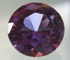 2.2 ct 8 mm Round Brilliant Solitaire Loose Color Change Alexandrite Gemstone