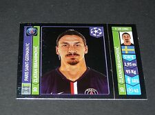 444 ZLATAN IBRAHIMOVIC PARIS PSG PANINI FOOTBALL UEFA CHAMPIONS LEAGUE 2014-2015