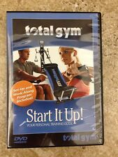Total Gym XLS Start It Up DVD Fit bars manual Wheels LAST ONE!!