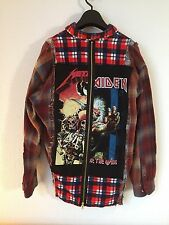 COTE MER Metallica Iron Maiden Collaboration Shirt Medium Made in Japan Rare