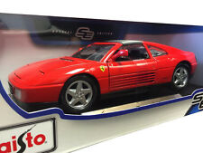 Maisto Ferrari 348 TS 1:18 Diecast Model Car Red