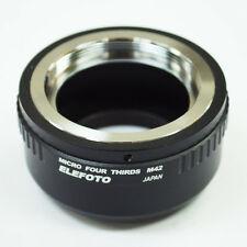 ELEFOTO M42 mount lens to Micro 4/3 MFT camera adapter GH4 OM-D G6 E-PL7