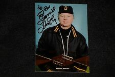 DON CHERRY 2004 UD LEGENDARY SIGNATURES SIGNED AUTOGRAPHED CARD #29 BRUINS