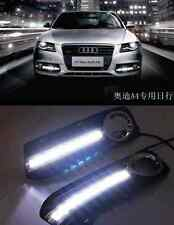 For Audi A4 A4L B8 Sedan 09-2011 2x White LED Daytime Day Fog Light DRL Run lamp