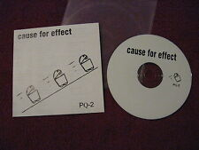 CAUSE FOR EFFECT PQ-2 CD Finland grind duo Ruins Le Scrawl