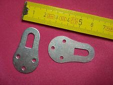 3 attaches porte manteaux 23 par 39 mm (réf G)  étagère , cadre, ...