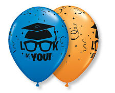 "Look at You Latex Balloons, 11"" Graduation Party Decor, Grad BBQ Dinner  10p 11"""