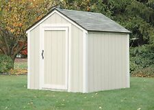 2x4 Basics Shed Kit, Peak Style Roof- 90192 -Storage Shed Steel with Connecters