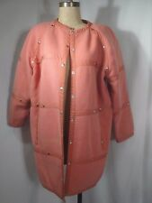 Vintage COURREGES Made in France Button Front Coat Size Large