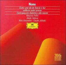 Luigi Nono: Como una ola de fuerza y luz, for Soprano, Piano, Orchestra & Magnet
