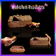 reptiles/amphibians LOG EFFECT CAVE / MOSS BOX