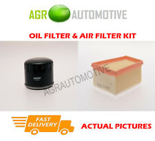 PETROL SERVICE KIT OIL AIR FILTER FOR RENAULT SCENIC 1.6 107 BHP 1999-01