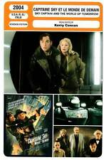 CAPITAINE SKY ET LE MONDE DE DEMAIN (FICHE CINEMA) Paltrow,Law,Jolie,Ling 2004