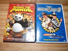 Jack Black's Kung Fu Panda and Disney's Inspector Gadget 2,  DVD movies lot