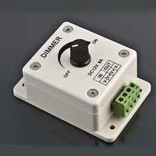 12V 8A PIR Sensor LED Strip Luci Switch Dimmer Brightness Adjustable Controller