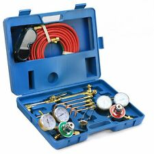 Victor Type Gas Welding & Cutting Kit Oxygen Torch Acetylene Welder Tool Case