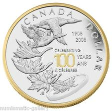 CANADA SPECIAL EDITION 1 DOLLAR  2008 ROYAL CANADIAN MINT CENTENNIAL PCGS PR69