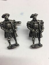 Tudor Henry VIII WE-TP1H Fine English Pewter Cufflinks