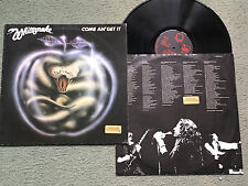 WHITESNAKE - COME AND GET IT - GERMAN LIBERTY A1/B1    LP