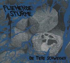 FLIEHENDE STÜRME Die Tiere schweigen LP (2009 Major Label) Neu!
