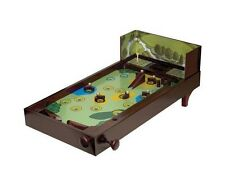 Classic Wooden Golf Pinball Game Table Top Metal Balls New