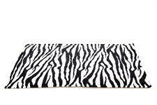WATERPROOF Guinea Pig and small animal fleece cage liner Zebra size 140x59cm