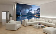 Lighthouse Wall Mural Photo Wallpaper GIANT DECOR Paper Poster Free Paste