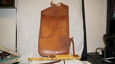 WWI U.S.Q.M.C. Quartermaster Corps Leather Saddle Bag Pommel Horse Tack Military