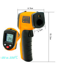 Non-Contact IR Infrared Digital Gun Thermometer Laser Point for Hot Water Pipes