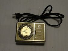 VINTAGE PROGRAMMABLE ELECTRIC LAMP APPLIANCE TIMER MODEL 19-55