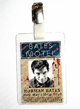 Psycho Norman Bates ID Badge Bates Motel Horror Cosplay Prop Costume Christmas