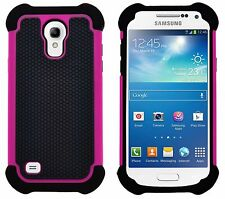 Shock Proof Heavy Duty Tough Armour Hard Case Cover For Samsung Galaxy S4 Mini