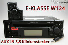 Mercedes Original Autoradio W124 E-Klasse S124 Audio 10 CD MF2199 AUX-IN MP3 RDS