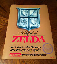 "The Legend of Zelda NES box art retro video game 24"" poster print nintendo link"