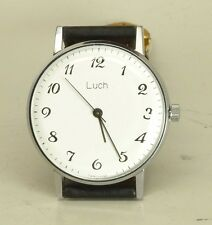 NEW Luch De luxe slim as Poljot USSR wristwatch 2209 cal 23 j