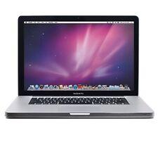 Apple MacBook Pro 17 Intel i7 Quad-Core 4GB Ram 750GB HDD Radeon Mac MC725LL/A