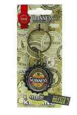 Guinness Bottle Cap keyring/flip down bottle opener 2016 collectors (sg 5412)