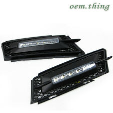 BMW E90 3 SERIES Daytime Running FogLight 5 LED DRL BEFORE FACELIFT 06-08 ○